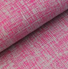 Stretch Jersey Knit Fabric - Hatch Pink Grey - 95% Cotton 5% Lycra Half Metre