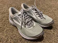 Brooks Women's 'Ghost 10' Grey Running Athletics Shoes Size US 6 EU 36.5 FREE SH