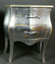 Lampada da tavolo bianco e nero Argento Luce base comodino LA-001SW