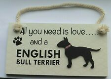 English Bull Terrier Plaque
