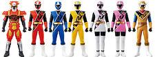 Power Rangers Ninjasteel Shuriken Sentai Ninninger Sentai Hero No.1-7 Figure set