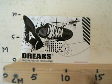 STICKER,DECAL DREAKS SNEAKERS FOR DRUMMERS  A