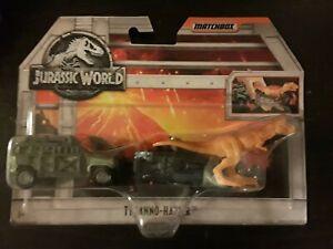Jurassic World Matchbox Tyranno-Hauler Diecast Vehicle