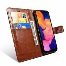 For Samsung A10 Case on Samsung A10 SM-A105FD Case Flip 6.2 Leather Wallet Book