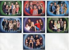 Buffy TVS UK Exclusive Sky TV 7 Card Promo Set