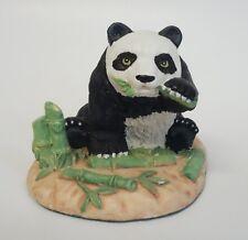 Endangered Friends Panda Bear Animal Figurine 1991 Cbk
