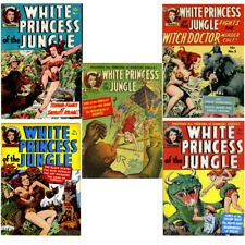White Princess of the Jungle – 5 Issues – Golden Age Digital Comic Books on CD