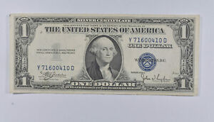 Crisp - 1935-C United States Dollar Currency $1 Silver Certificate *231