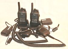 Lot 2 Icom Ic F2000S Handheld Two Way Radio Uhf Ic F2000S 450-512 Mhz