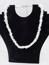 "New Hawaiian Island Beach Style 18"" Chipped Puka Shell Necklace  #N2129NP"