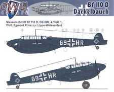 Owl Decals 1/32 MESSERSCHMITT Bf-110D DACKELBAUCH