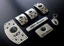 Kit Completo Pedaliera Sportiva Alfa Romeo 147 Silver