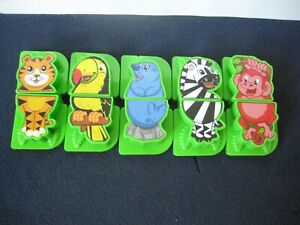 LeapFrog Fridge ZOO ~Animals Magnets ONLY!!! ~ 5-SETS Complete