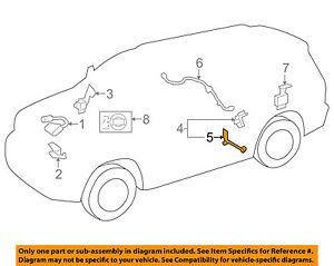 48906-34030 Toyota Link sub-assy, height control sensor, rear 4890634030, New Ge