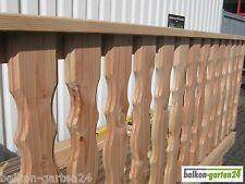 Douglasie Balkongeländer, Holzbalkon, Balkon, Holz, alt. Lärche, Balkonbretter