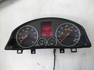 Tacho MFA FIS VW Eos FSI TSI 1Q0920972D Kombiinstrument US Cluster mph