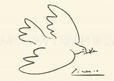 "PICASSO PABLO - DOVE OF PEACE - Artwork Reproduction 19.75"" x 27.5""  (459)"