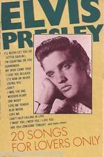 ELVIS PRESLEY - 20 Songs For Lovers Only (EU 20 Tk Cassette Album)