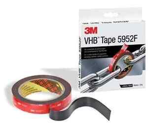 Montageband Universalklebeband 3M VHB Klebeband 5952F 19 mm x 3 m doppelseitig