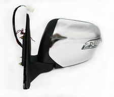 Door/Wing Mirror L.E.D Chrome Electric L/H N/S For Mitsubishi L200 B40 2.5 06 ON