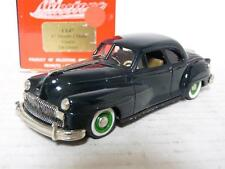 Milestone CL47 1/43 1947 DeSoto Coupe Resin Handmade Model Car