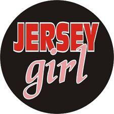 JERSEY GIRL Pin/Button