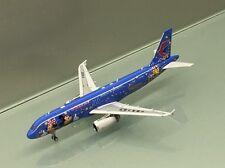 Phoenix 1/400 China Eastern Airbus A320 B-6635 Disneyland metal miniature mo