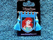 Disney * PRINCESS ARIEL * Tapestry Banner Series * New on Card Trading Pin