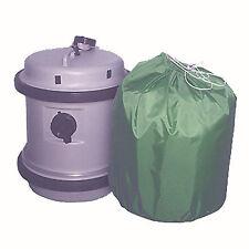 NYLON COVER BAG FOR AQUAROLL etc GREEN. WATERPROOF, CARAVAN MOTORHOME