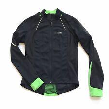GORE Bike Wear Windstopper Cycling Jersey Zip-Off Jacket Women Medium Black