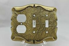 """LP-1777 Amerock 6 3/4"""" Bronze Carriage House Metal Outlet & Switch Plate"""