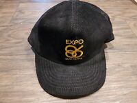 Vintage Expo 86 Corduroy Snap Back Hat