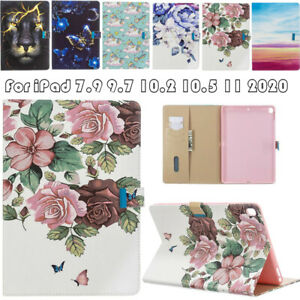 Magnetic Leather Case Cover For Apple iPad 5th 6th 7th 8th Gen Air Pro Mini 4 5