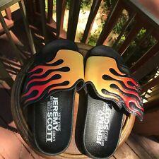 3 weeks SALE Adidas Originals Jeremy Scott Wings Flames Pool Slides Flops Q23165