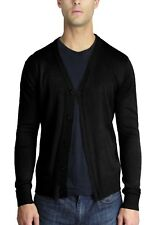 MEN'S SOLID CASUAL CARDIGAN SWEATER (SW-249)