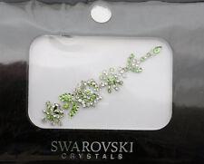 Bindi bijoux de peau mariage front strass cristal Swarovski vert INHC  3605