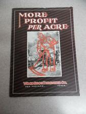 1930 Wood Bros. Thresher Co. Catalog Threshing Machine Combine Des Moines Iowa