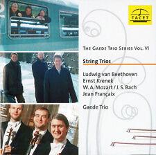 THE GAEDE TRIO - STRING TRIOS - GAEDE TRIO SDERIES VOL.6 (CD-2003) BEETHOVEN….