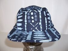 Della Adjustable Strap Back Blue Baseball Hat Cap
