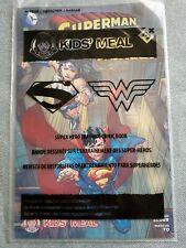 Wendy's 2103 Superman and Wonder Woman Super Hero Comic Book