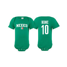 Mexico Soccer Baby Outfit Mameluco Infant Boy Girl Bodysuit T-shirt Romper