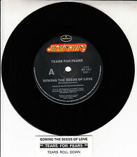 """TEARS FOR FEARS Sowing The Seeds Of Love 7"""" 45 rpm record + juke box strip RARE!"""
