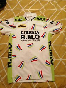 Vintage Liberia R.M.O Mavic cycling jersey . ALY SIZE 3/MEDIUM
