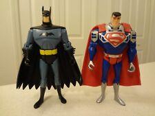 DC Comics Justice League BATMAN and SUPERMAN Action Figures