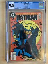 Batman 423 2nd print CGC 9.0 White Pages McFarlane DC