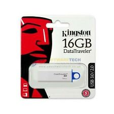 KINGSTON DataTraveler Generation 4 (16GB) USB 3.0 PEN DRIVE FLASH (Blu)