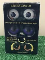 New Set Of Three Spooky Flashing Peep n' Peepers Halloween Eye Lights