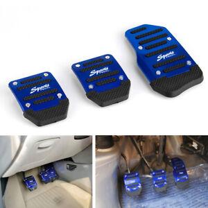 3 * Non-slip Vehicle Accelerator Brake Foot Pedal Cover Pad Car Auto Transmissio