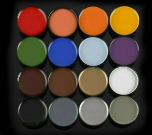 MEHRON COLOR CUP CREME_FOUNDATION MAKEUP CLOWN CREAM_MARDI GRAS HALLOWEEN _Pick