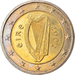 [#920049] IRELAND REPUBLIC, 2 Euro, 2002, Sandyford, MS, Bi-Metallic, KM:39